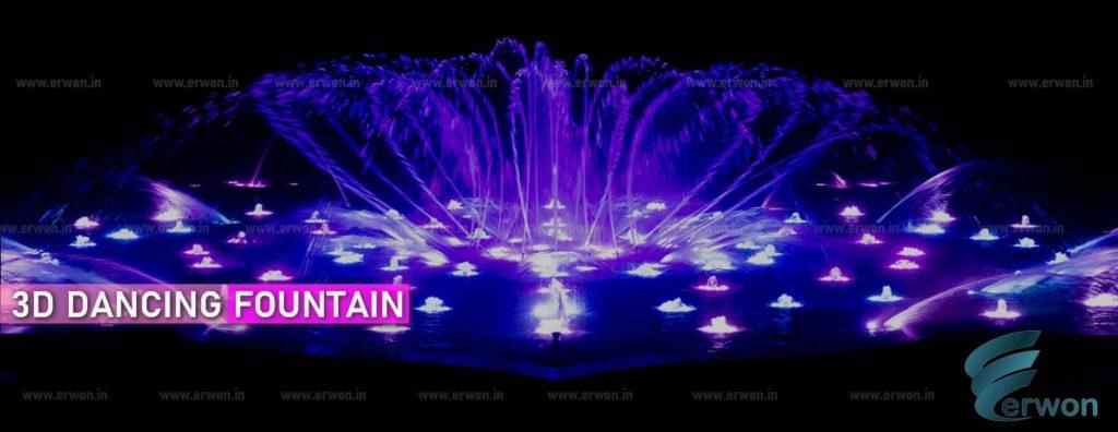 3 D Dancing Fountain - Erwon energy